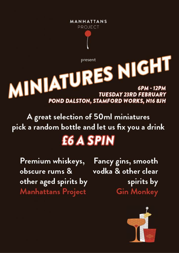 miniatures night